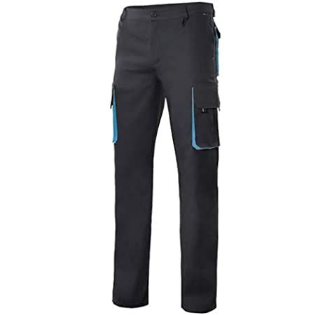 PANTALON VELILLA BICOLOR MULTIBOLSILLO