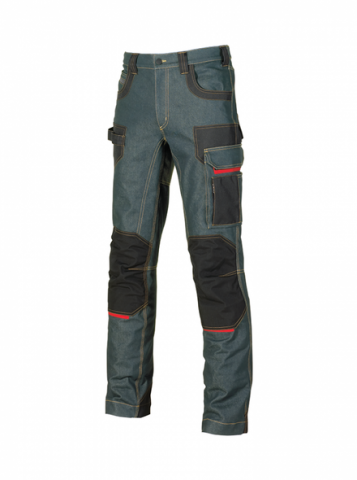 U-POWER BUTTON PANTALON VAQUERO ELASTICO 40-60