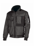 U-POWER MATE BOMBER ROBUSTO CON MANGAS S-2XL